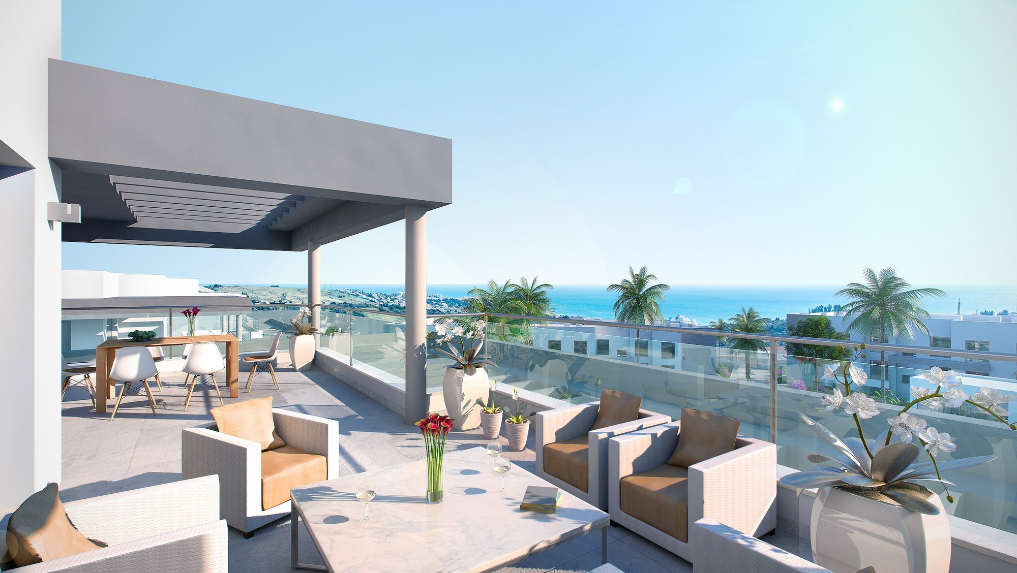 Penthouses for sale in Valle Romano